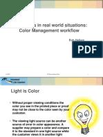 Color Management Workflow