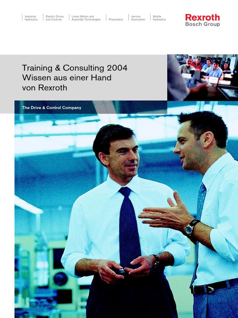 Rexroth Seminare 2004