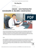 SLAG base cement – new horizon for sustainable & durable construction _ The Daily Star.pdf