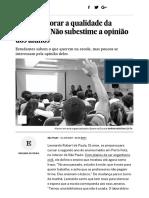 Quer Melhorar a Qualidade Da Educação_ Não Subestime a Opinião Dos Alunos _ Economia _ EL PAÍS Brasil