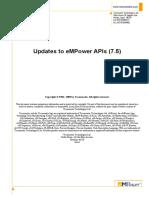 Empower a Pi Updates