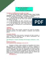 29 de Enero Domingo 4 Del Tiempo Ordinairo, ciclo A