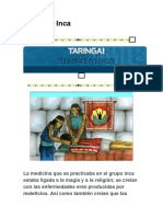 Medicina Inca