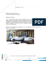 Informe Al Gobernador, Enero a Julio 2016