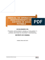 Anexo 2.1 Manual de O&M Agua Potable