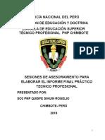 Informe de Quispe Sihuin