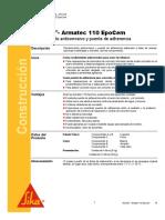 Recubrimiento Anticorrosivo Sikatop Armatec 110 Epocem