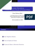 Aula 10 Processos Estocásticos Derivados Do Processo de Poisson
