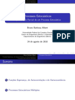 Aula 06 Especificação Parcial de Um Processo Estocástico
