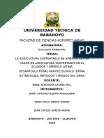 2 Parcial Trabajo Grupal n1 Agricultura Sustentable en America Latina y Drha
