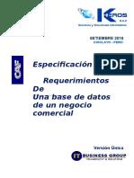 FRM AREQM01 Especif Req GesNegFerretería