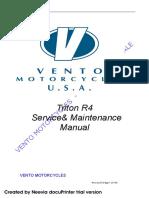 Manual de servicio UM Triton R4