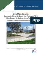 Guia elaboracion planes de desarrollo JICA Higuito.pdf
