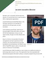 LaunchCode Names New Executive Director Original