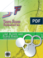 Paddle Blinds Line Blinds and Bleed Rings Catalogue 2011 SureFlowEquipmentInc