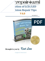 Collection of LCD LED TV Repair Tips V4.0 - Kent Liew