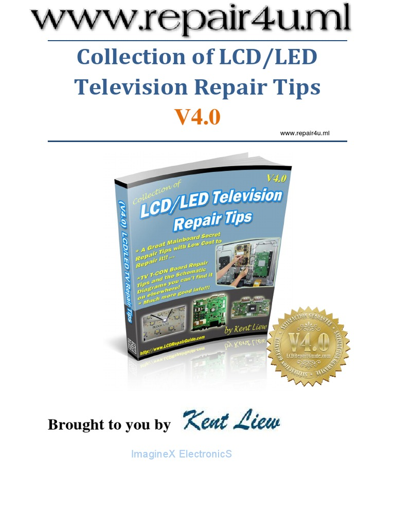 Collection of LCD LED TV Repair Tips V4 0 - Kent Liew
