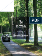 Bowood Wedding Brochure 2017