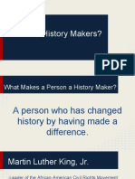 introduction to history makers