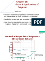 Characteristics and Application of Polymers