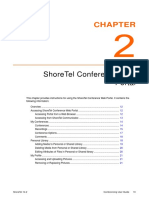 ShoreTel Conference Web Portal