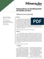 Espessadores no beneficiamento de minério de ferro.pdf