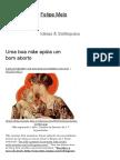 Uma Boa Mãe Apóia Um Bom Aborto _ Felipe Melo