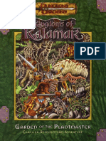 D&D 3.0 - Kingdoms of Kalamar - Garden of the Plantmaster.pdf