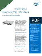 Omni Path Edge Switch 100 Series Brief