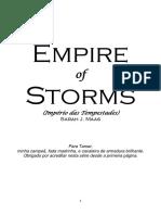 Trono de Vidro - Livro 05 - Império Das Tempestades - Sarah J. Maas