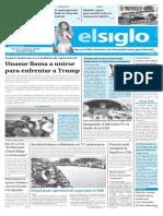 Edición Impresa Elsiglo 29-01-2017