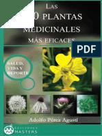 Las 200 Plantas Medicinales Mas Adolfo Perez Agust