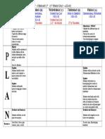 lesson plan summary
