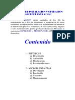 Ecotecnica - Septi Boss, Manual de Instalacion y Operacion Microplanta 2.3 m3.pdf