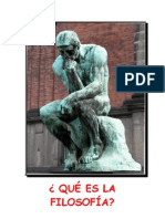 Filosofía y sus funciones