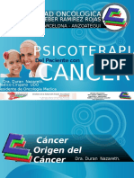 Psicoterapia Del Paciente Con Cancer