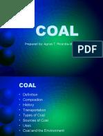 Non Renewable - Coal
