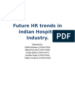 Future HR Trends in Indian Hospital Industry