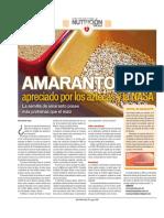 Amaranto, Apreciado Por Los Aztecas Y La NASA.pdf