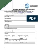 A Cen Membership Form