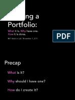 2.009 Portfolio Workshop S2-Web