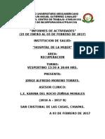 Informe 9-20 Enero 2017