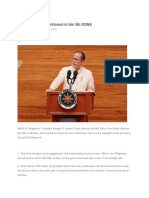 83 Things PNoy Mentioned in His 5th SONA