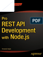 Pro REST API Development With Node.js