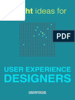 Bright Ideas for UX Designers