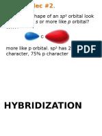 3 Chem 23 Hybridization