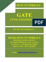 Gate Civil Engineering Syllabus