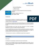 Normas Apa. 22016