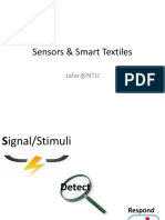 Slide Group 008 Sensors & Smart Textiles