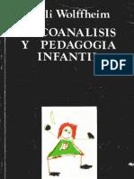 Psicoanálisis y pedagogía infantil [Nelli Wolffheim]